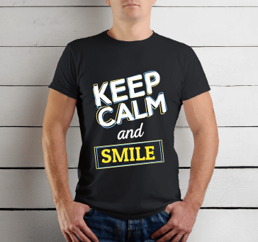 Buy Keep Calm And Smile