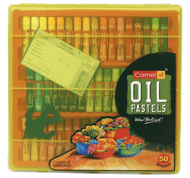 Camel - Oil Pastels (50 Shades)